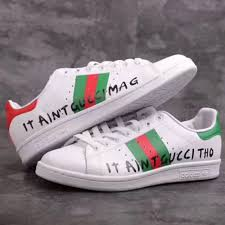 adidas x gucci adidas x stan smith x gucci sneakers men s fashion footwear on