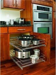 Best PullOut Shelves Images On Pinterest Base Cabinets - Kitchen cabinet sliding drawers