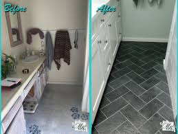 kitchen bathroom renovation creditrestore us bathroom floor tile remodeling before and after photo mesa