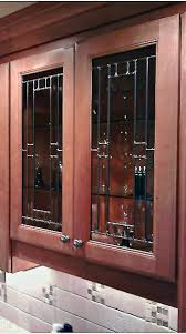 Cabinet Panels Beveled Glass Kitchen Cabinet Panels Mclean Stained Glass Studios
