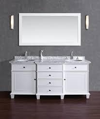 60 Bathroom Vanity Double Sink by Stufurhome Cadence White 60 Inch Double Sink Bathroom Vanity With