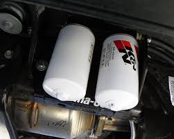 Dodge Ram Cummins Triple Turbo - perma cool developed a dual oil filter relocation kit using dual