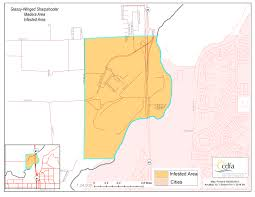 Santa Barbara California Map Cdfa U003e Pierce U0027s Disease Control Program U003e Maps