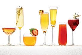 cocktail recipes seven signature champagne cocktail recipes for weddings