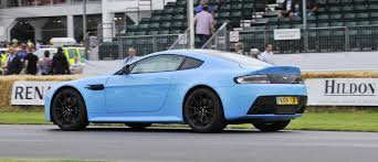 future aston martin aston martin zings up goodwood hill to its amg future in vantage