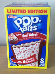 ephemeral noms pop tarts frosted red velvet