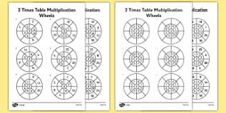 times tables primary resources multiply times page 2