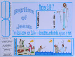 bible fun for kids baptism of jesus