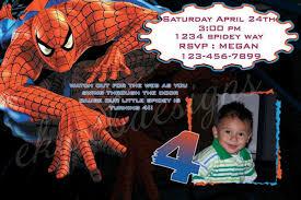 tips to create spiderman birthday invitations templaes ideas