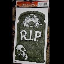 zombie crypt keeper graveyard scene setter halloween decorations
