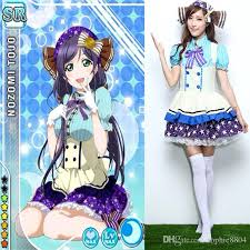 Candy Princess Halloween Costume Halloween Dress Lovelive Cosplay Candy Cute Girls Nozomi Tojo