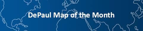 depaul map depaul map of the month geography department depaul