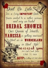 kitchen tea invites ideas bridal shower invitations free mad hatter bridal shower invitations