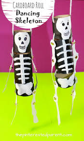 Dancing Halloween Skeleton by Cardboard Roll Dancing Skeleton U2013 The Pinterested Parent