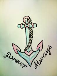 forever always anchor design photos pictures and sketches