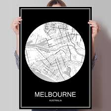 Cheap Home Decor Online Australia by Online Get Cheap Australia Map Poster Aliexpress Com Alibaba Group