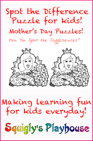 thanksgiving day puzzles mother u0027s day puzzles at squigly u0027s playhouse