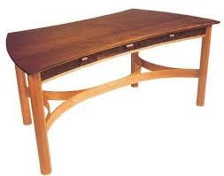 Wood Desk Plans by Best 25 Curved Desk Ideas On Pinterest Desk With Shelves Desk