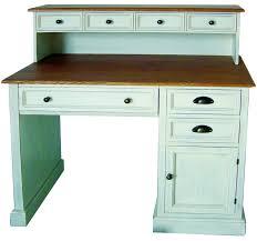 Kleine Schreibtische Aus Holz Schreibtisch Im Landhausstil In Weiß Aus Kiefernholz Kaufen