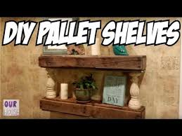 Pallet Floating Shelves by Diy Pallet Projects How To Build Floating Pallet Shelves Our