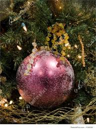 plum ball christmas ornament image