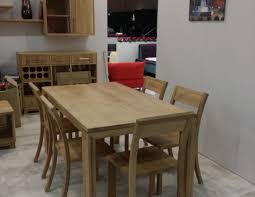 solid oak dining table with 6 chairs u2022 soligna