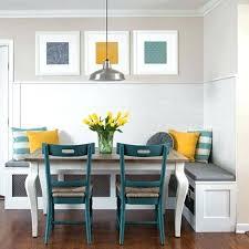 table et banc de cuisine banquette cuisine sur mesure table avec banquette banc de coin pour