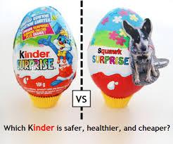 kinder suprise egg make a banned kinder egg for 80 less squawkfox