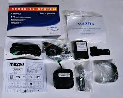 genuine mazda 3 2009 alarm upgrade kit