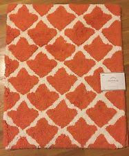 Orange Bathroom Rugs by Pottery Barn Bath Mats Ebay