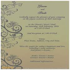 Reception Samples Reception Printed Text Wedding Invitation Lovely Wedding Invitation Card Format In