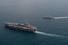 Singapore Navy Flag File Us Navy 120130 N Bt887 147 The Nimitz Class Aircraft Carrier