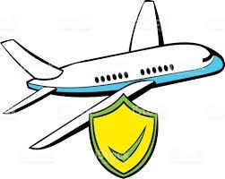 imagenes animadas de aviones dibujos animados icono seguro de aviones arte vectorial de stock y