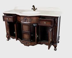 Bathroom Vanity Single Sink by Montage Antique Style Bathroom Vanity Single Sink 60