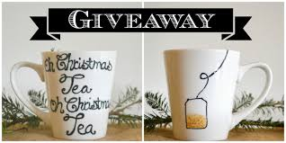 handmade mugs oh christmas tea mug giveaway