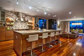 Modern Kitchen With Island Modern Kitchen Island Designs With Seating