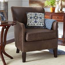 Faux Leather Accent Chair Amazing Faux Leather Accent Chair In Office Chairs With