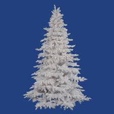 white flocked trees sale lights decoration