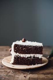 chocolate hazelnut cake with vanilla hazelnut buttercream u2014 molly yeh