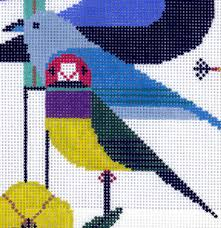 needlepoint canvases at purl purl soho