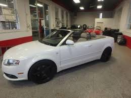 white audi a4 convertible for sale audi a4 convertible in minnesota for sale used cars on