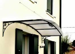 pensilina tettoia in policarbonato plexiglass tettoia in ferro e plexiglass jodeninc