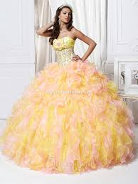 light pink quince dresses a yellow quinceanera quinceanera themes my quince