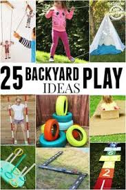 Backyard Play Area Ideas Backyard Play Ideas Stress Free Summer Play Outdoors Backyard