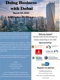 Miami Dade Wolfson Campus Map by Doing Business With Dubai Tickets Thu Mar 23 2017 At 8 30 Am