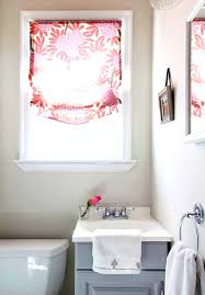 accessories splendid small bathroom window curtain treatments