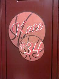 Ideas For Decorating Lockers Basketball Decorations For Locker Basketball Player Locker