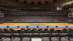 madison square garden seating chart knicks with rows