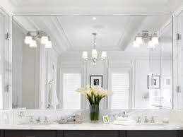 Lighting Ideas For Bathrooms by Bathroom Lighting Ideas Double Vanity Light Brown Lacquered Wall