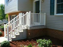 porch banister front porch stunning front porch design with cream siding and